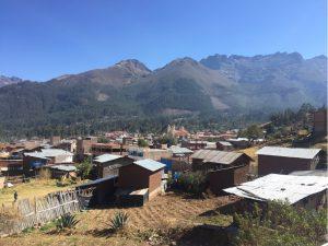 Dorf auf 3000m Höhe