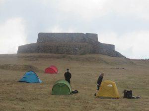 Camping bei den Incas