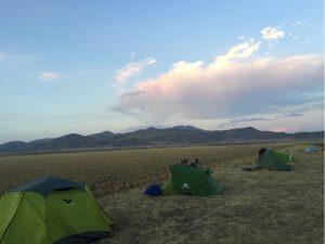 erstes Bushcamp auf Hochebene